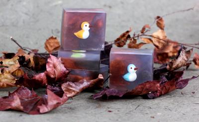 Spiced Mahogany handmade soap