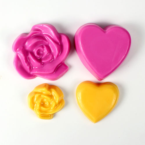 DISCONTINUED - Custom Hearts and Roses Mold