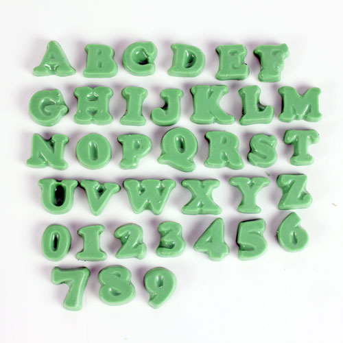 Custom Alphabet Soap Mold