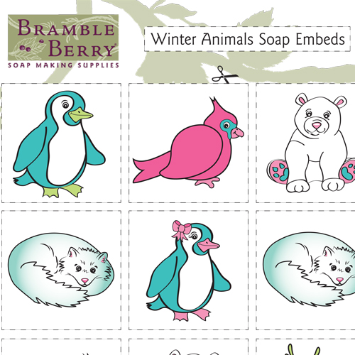 Holiday Animals Clipart