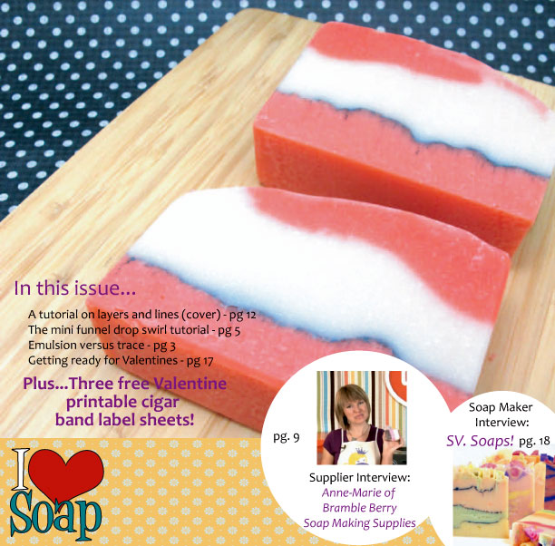Lovin' Soap E-Zine, Vol. 1