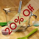 20% Off 2 Qt. Mixing Bowl