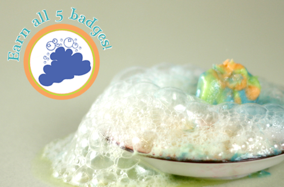 Bath Fizzy Clay