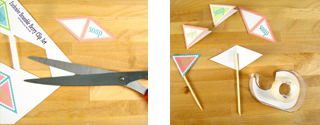 How to Make the Soap Flags