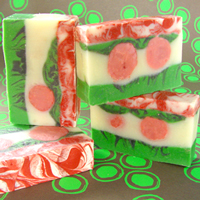 Holiday Cranberry Fig Cold Process Soap