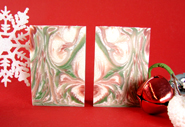 Cold Process Holiday Soaps